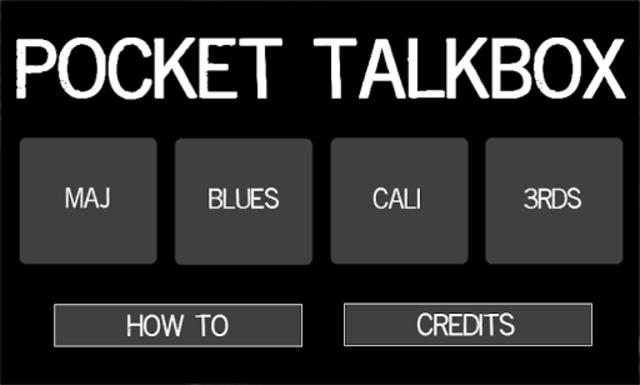 Pocket Talkbox screenshot 1