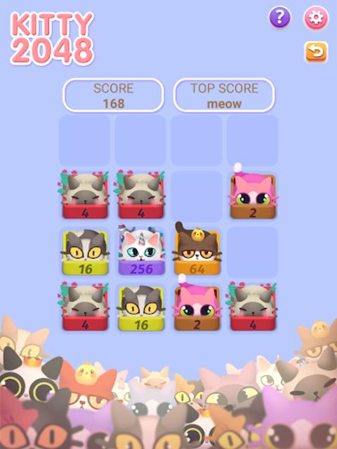 Kitty 2048
