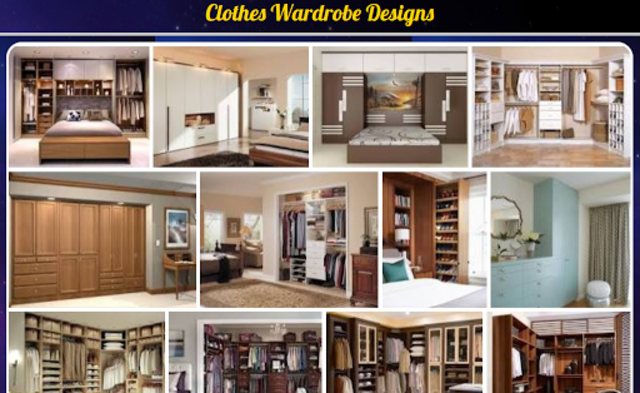 Clothes Wardrobe Designs screenshot 1