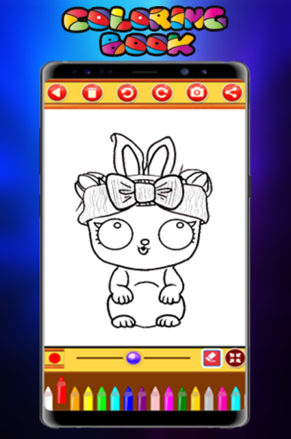 Coloring Book Dolls - Easy Drawing screenshot 2