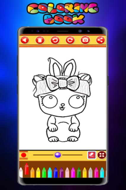 Coloring Book Dolls - Easy Drawing screenshot 5