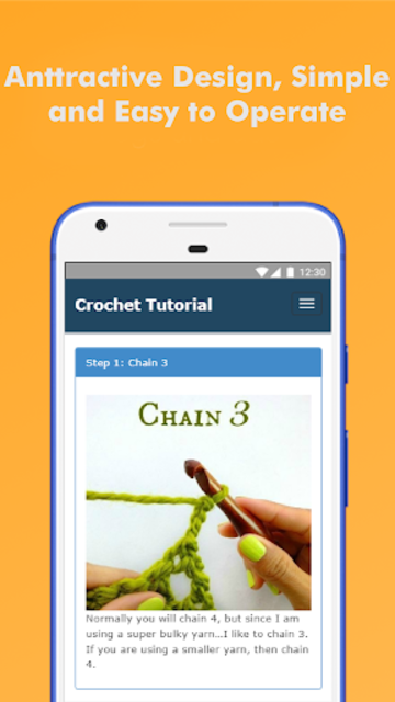 How to Learn Crochet Step by Step Easy Offline screenshot 2