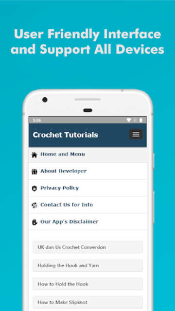 How to Learn Crochet Step by Step Easy Offline screenshot 5