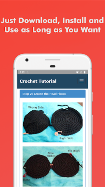 How to Learn Crochet Step by Step Easy Offline screenshot 6