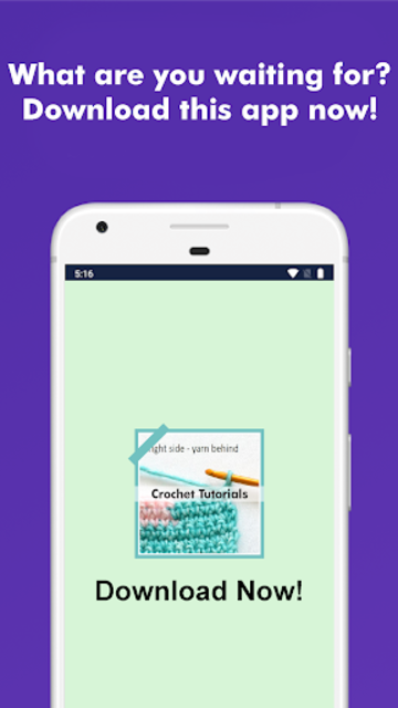 How to Learn Crochet Step by Step Easy Offline screenshot 7