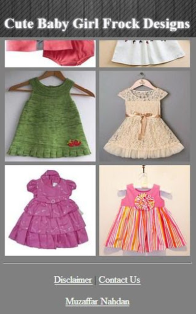 f71c6a3ea4ea About  Cute Baby Girl Frock Designs (Google Play version)