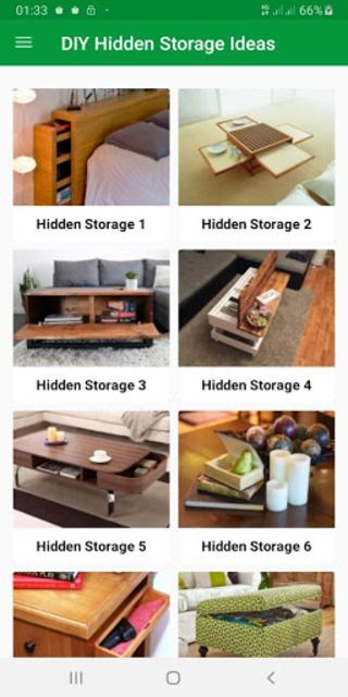 Top DIY Hidden Storage screenshot 1