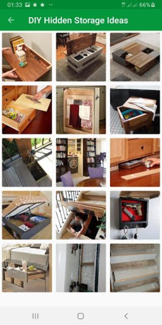 Top DIY Hidden Storage screenshot 6