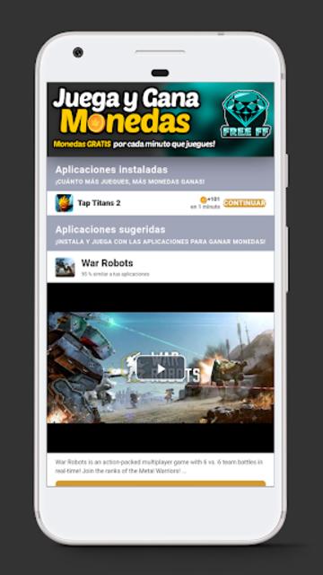 FREE FF - Diamantes Gratis screenshot 1