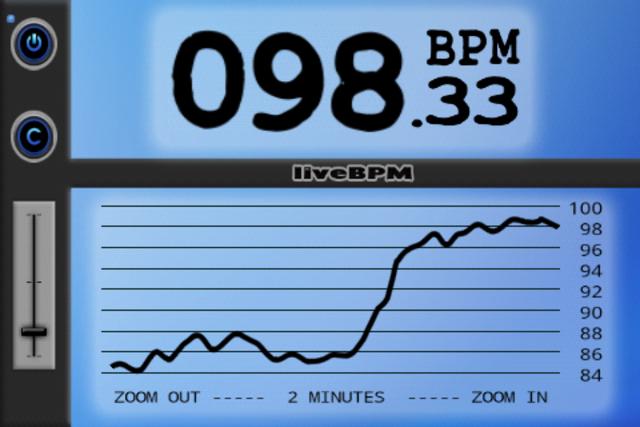 liveBPM - Beat Detector screenshot 1