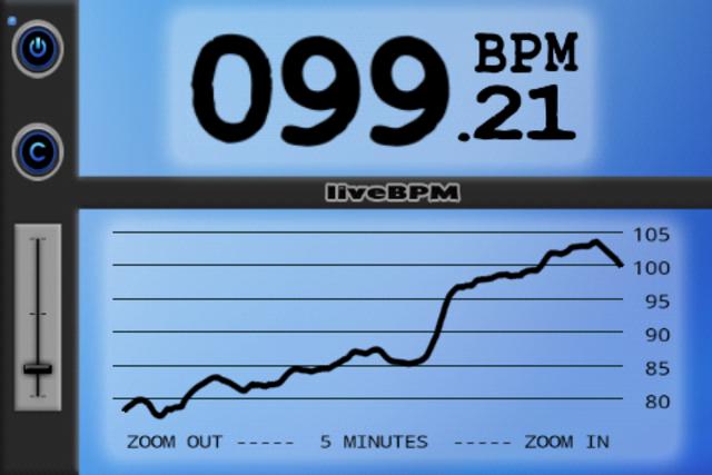 liveBPM - Beat Detector screenshot 2