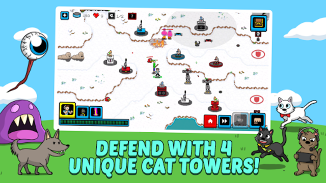 Cats & Cosplay: Tower Defense  A Cat Kingdom Rush!