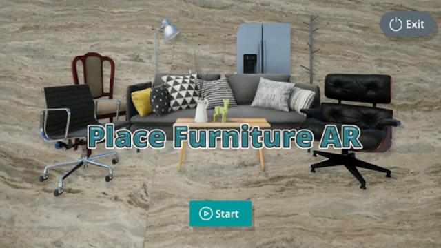 Place Furniture AR screenshot 1