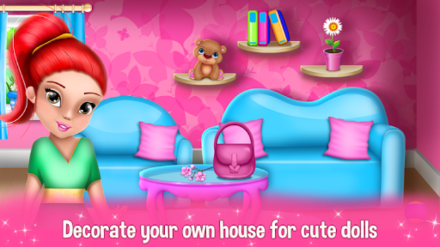 Dollhouse Decoration and Design Games 🏠 screenshot 3