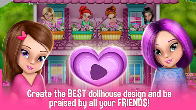 Dollhouse Decoration and Design Games 🏠 screenshot 4