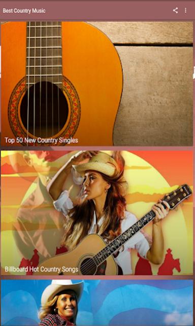 Best Country Music screenshot 1