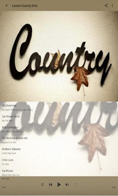 Best Country Music screenshot 3