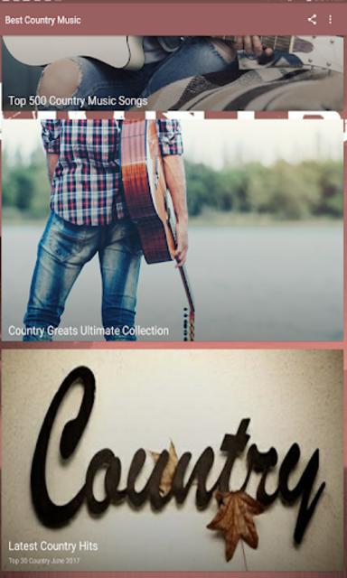 Best Country Music screenshot 4