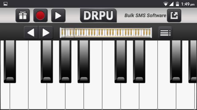 Electric Piano Digital Music screenshot 1
