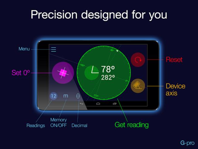 Goniometer Pro screenshot 1