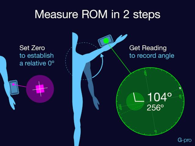 Goniometer Pro screenshot 2