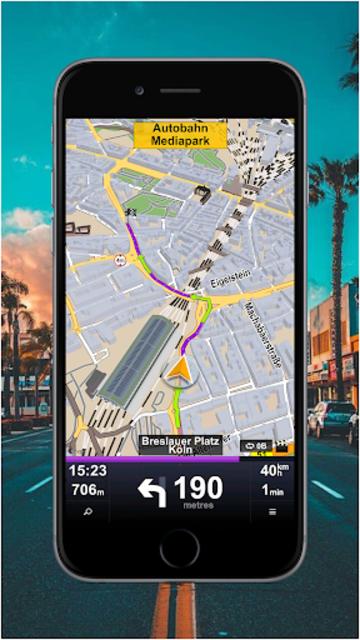 GPS Route Finder & Maps, Live Navigation & Tracker screenshot 1