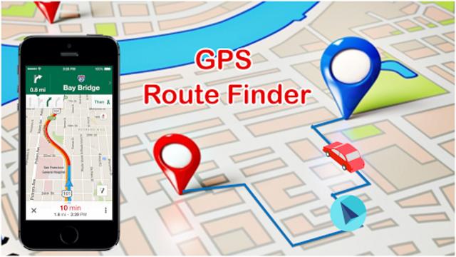 GPS Route Finder & Maps, Live Navigation & Tracker screenshot 2