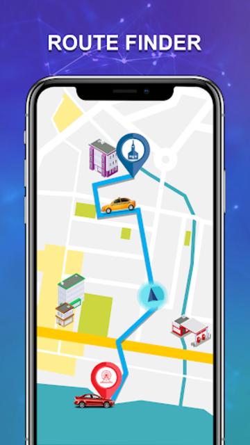 GPS Route Finder & Maps, Live Navigation & Tracker screenshot 4