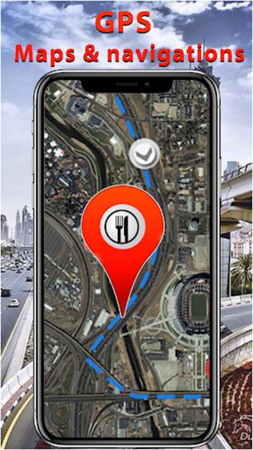 GPS Route Finder & Maps, Live Navigation & Tracker screenshot 8