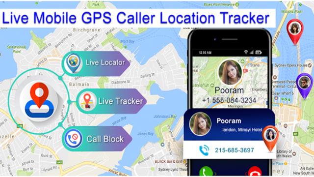 Live Mobile Phone GPS Caller Location Tracker screenshot 1