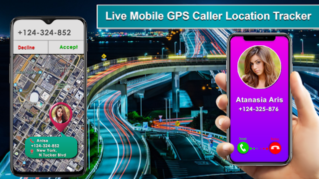 Live Mobile Phone GPS Caller Location Tracker screenshot 4