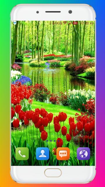 Garden Wallpaper screenshot 10