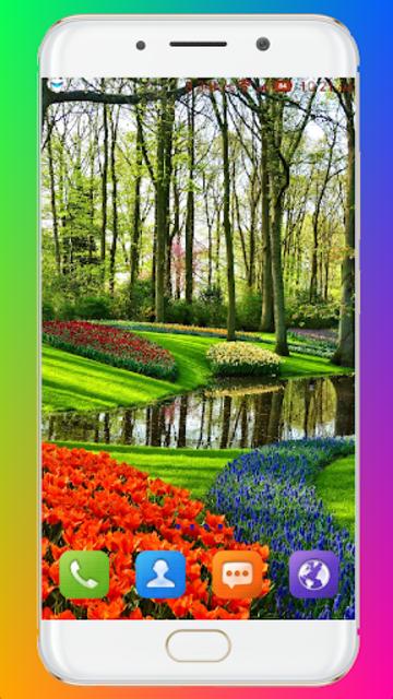 Garden Wallpaper screenshot 13