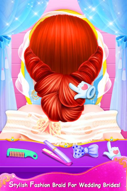 Fashion Hairstyles Makeup Artist Salon Girls Game screenshot 11