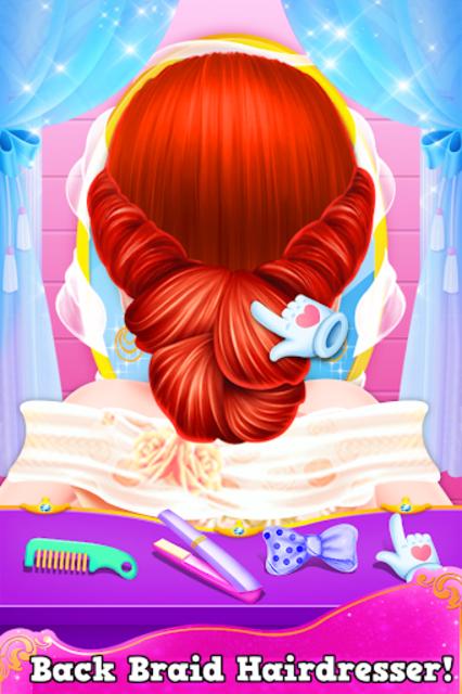 Fashion Hairstyles Makeup Artist Salon Girls Game screenshot 4