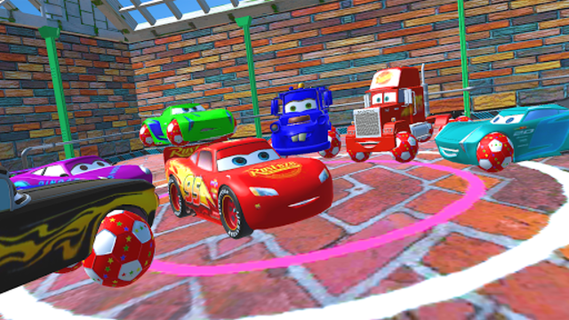 McQueen and Friends Racing Cars & Monster Trucks screenshot 1