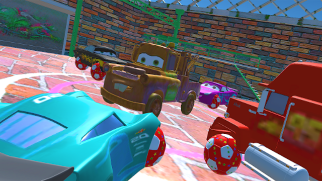 McQueen and Friends Racing Cars & Monster Trucks screenshot 2