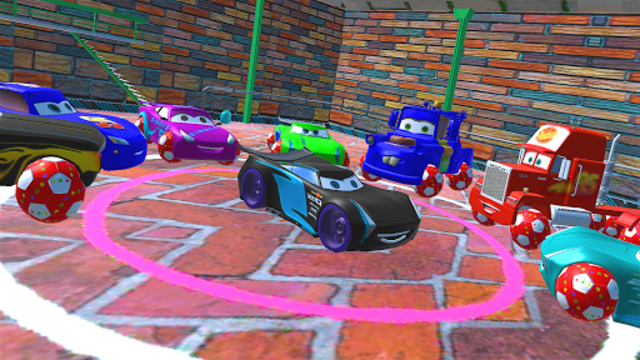 McQueen and Friends Racing Cars & Monster Trucks screenshot 3