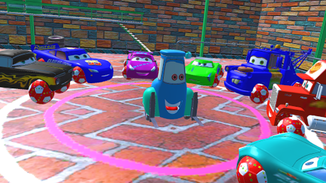 McQueen and Friends Racing Cars & Monster Trucks screenshot 4