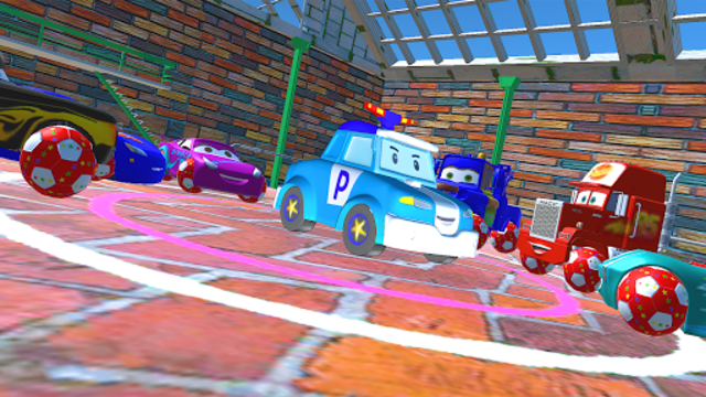 McQueen and Friends Racing Cars & Monster Trucks screenshot 5