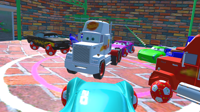 McQueen and Friends Racing Cars & Monster Trucks screenshot 6