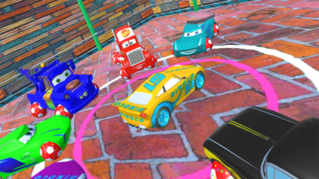 McQueen and Friends Racing Cars & Monster Trucks screenshot 7
