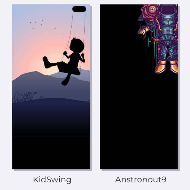 AmoledWalls Pro - Wallpaper [S10 hole punch Walls] screenshot 1