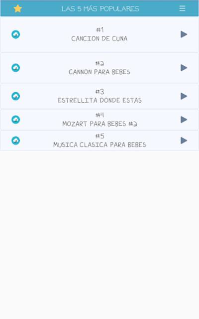 Canciones de cuna para bebés screenshot 21