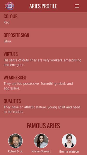 Aries Horoscope screenshot 7