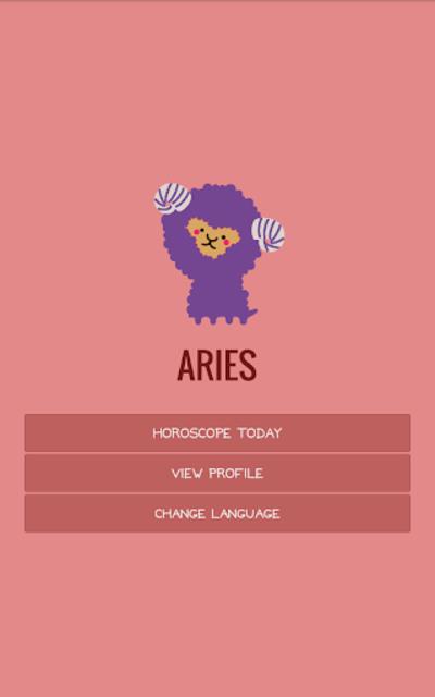 Aries Horoscope screenshot 14