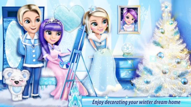 Ice Princess Castle Decoration screenshot 2