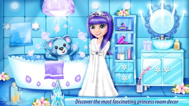 Ice Princess Castle Decoration screenshot 3