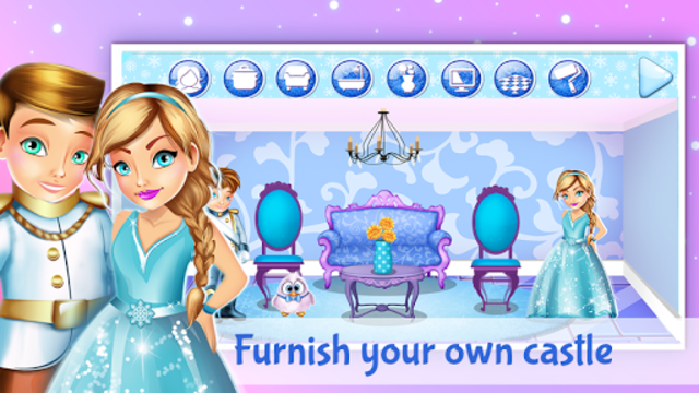 Ice Princess Doll House Design screenshot 2