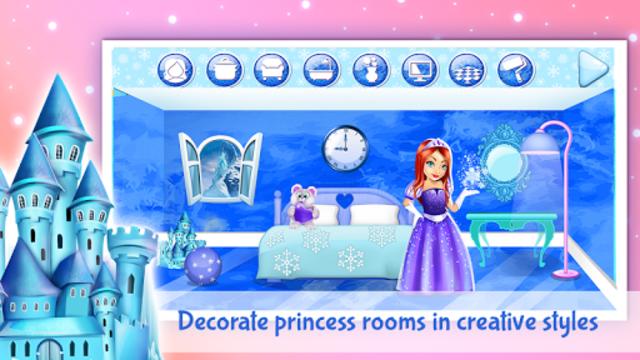 Ice Princess Doll House Design screenshot 4